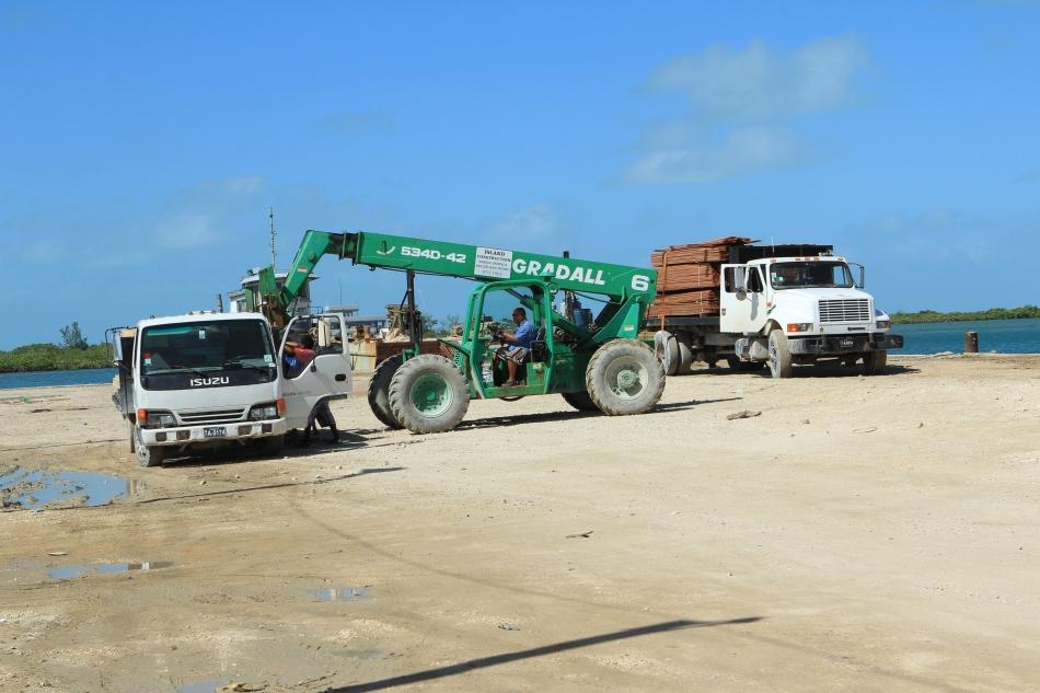 Dividing up the cargo