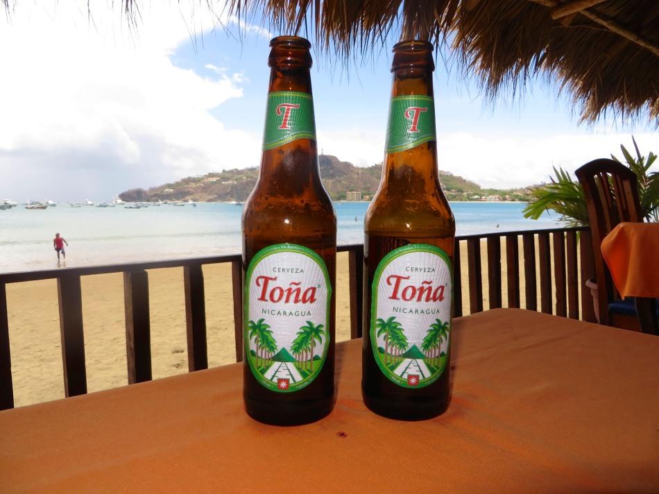 Tona, The beer of Nicaragua.