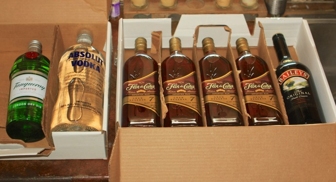 Ron de Cana, the rum of Nicaragua. Couldn't pass up the deal at Duty Free.