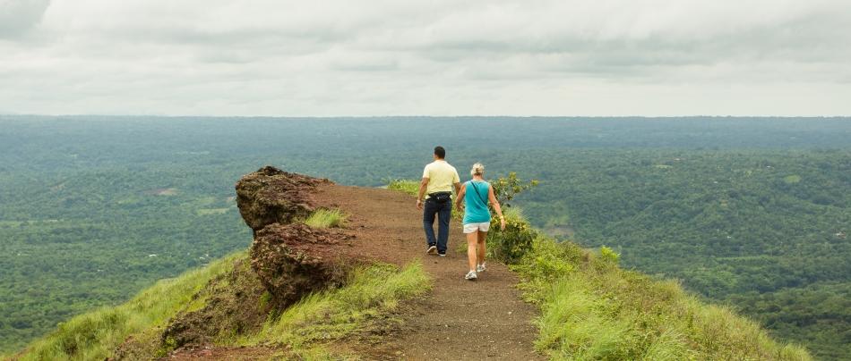 You can see Lake Managua, Lake Nicaragua and Ayopa Lagoon from the top.