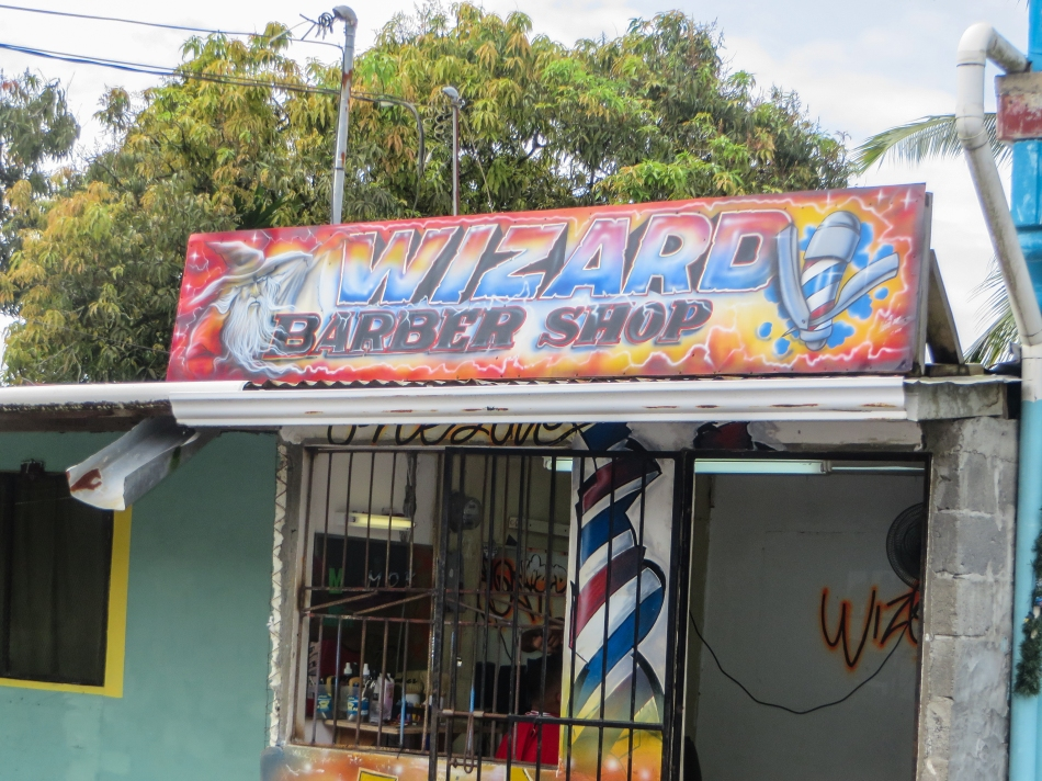 Great place to get that hair cut done while you are in Bocas.