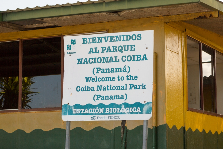 Welcome to Coiba National Park.