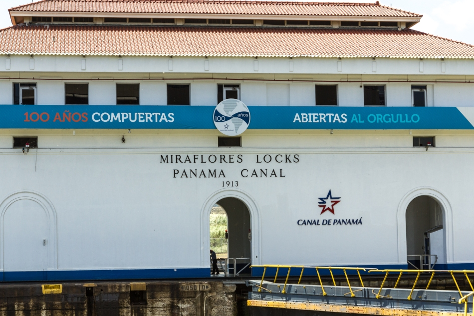 The Miraflores Locks are also the location of the excellent Interpretive Centre.