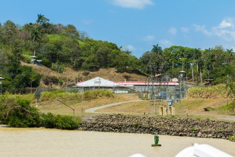 The other point of interest along the way was the prison where Manuel Noriega is serving his sentence for crimes committed during his rule of Panama.
