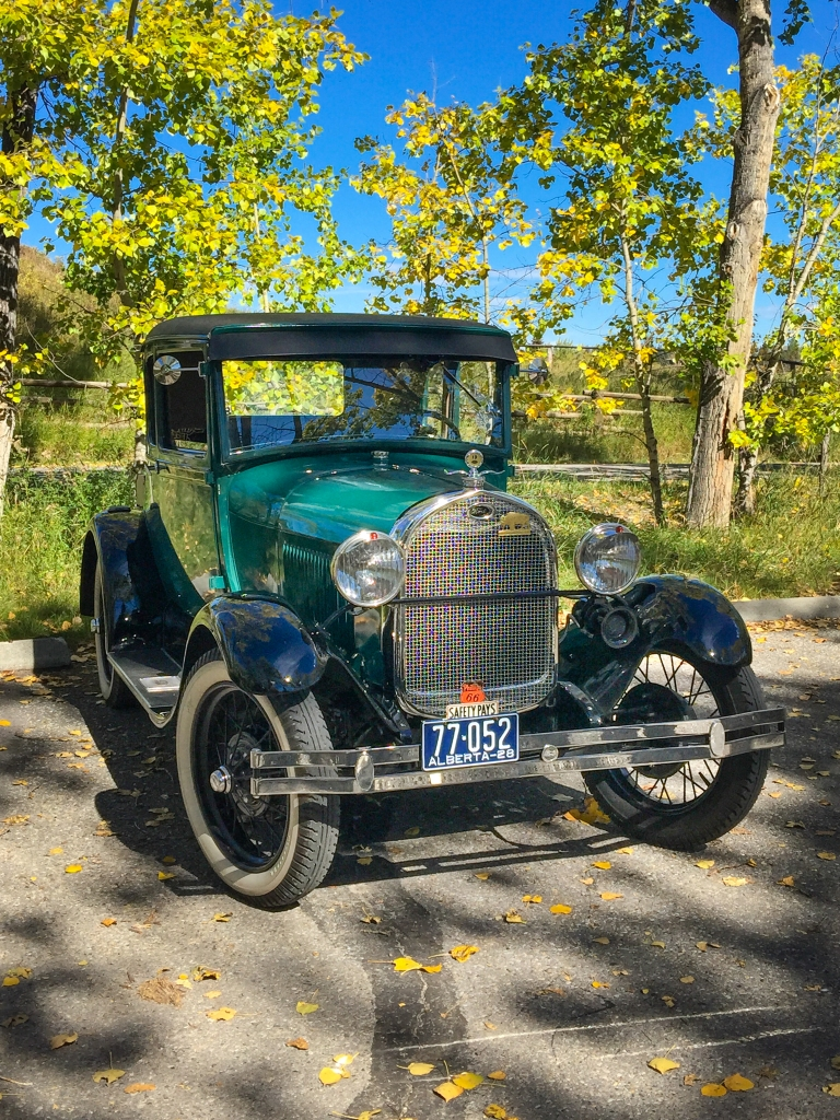 An authentic beauty. A 1928 Model A Ford.