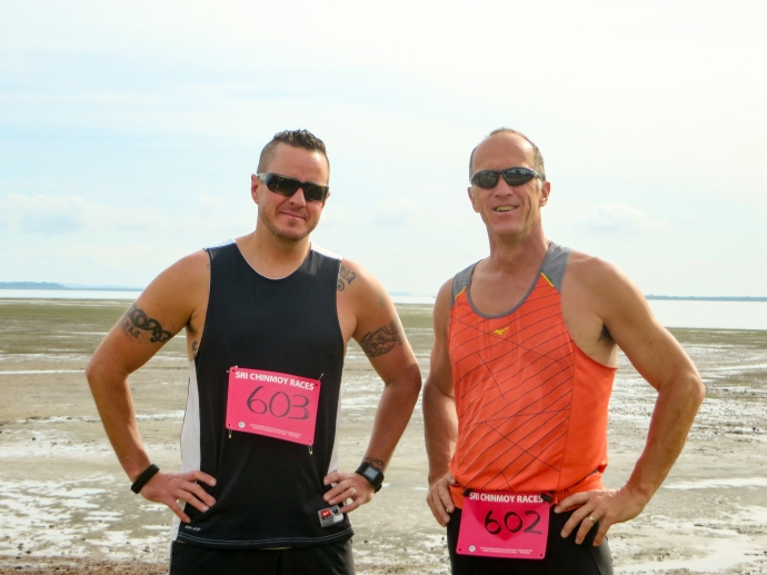So lucky to be able to run a race with my good friend Bryce while in the Manly, Queensland area.