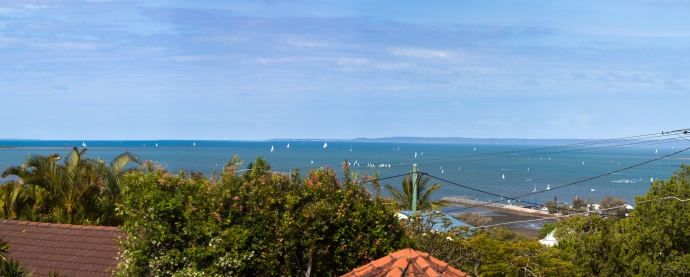 We will miss this gorgeous view every morning from our bedroom in Wynnum.