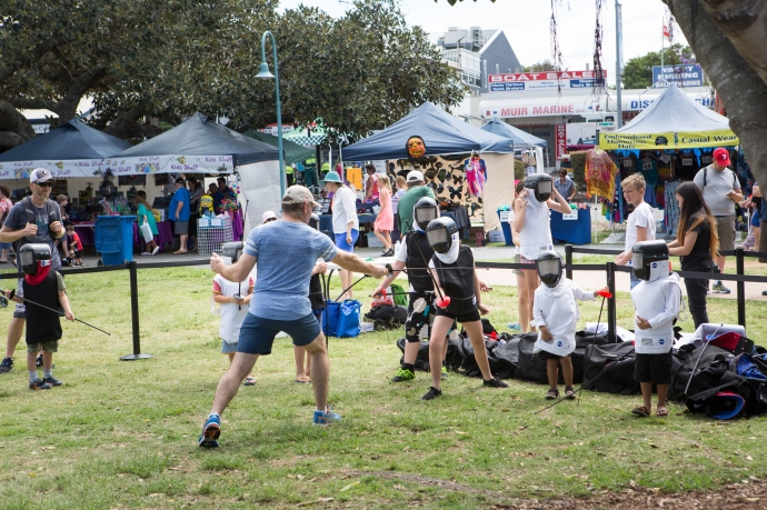 All sorts of local clubs were in evidence sharing their love of a variety of activities.