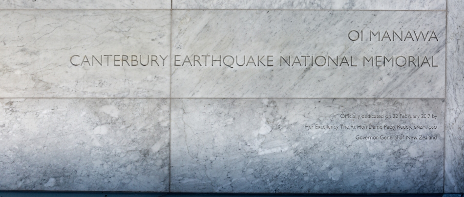 Canterbury Earthquake National Memorial