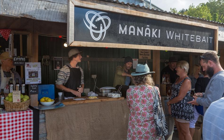 Whitebait Fritters in Matakana