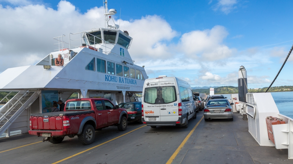 Rawene Car Ferry