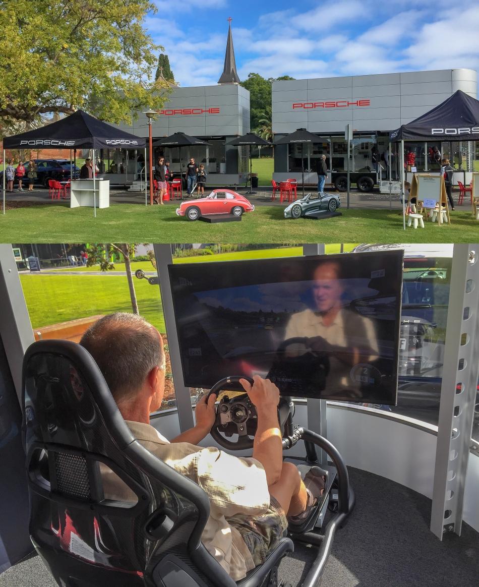 Travelling Porsche Show