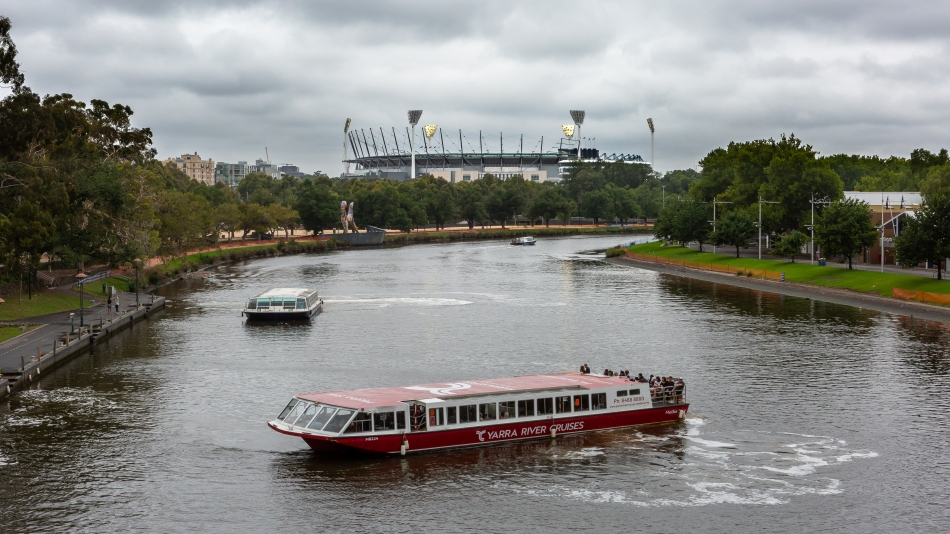 Yarra and the MCG