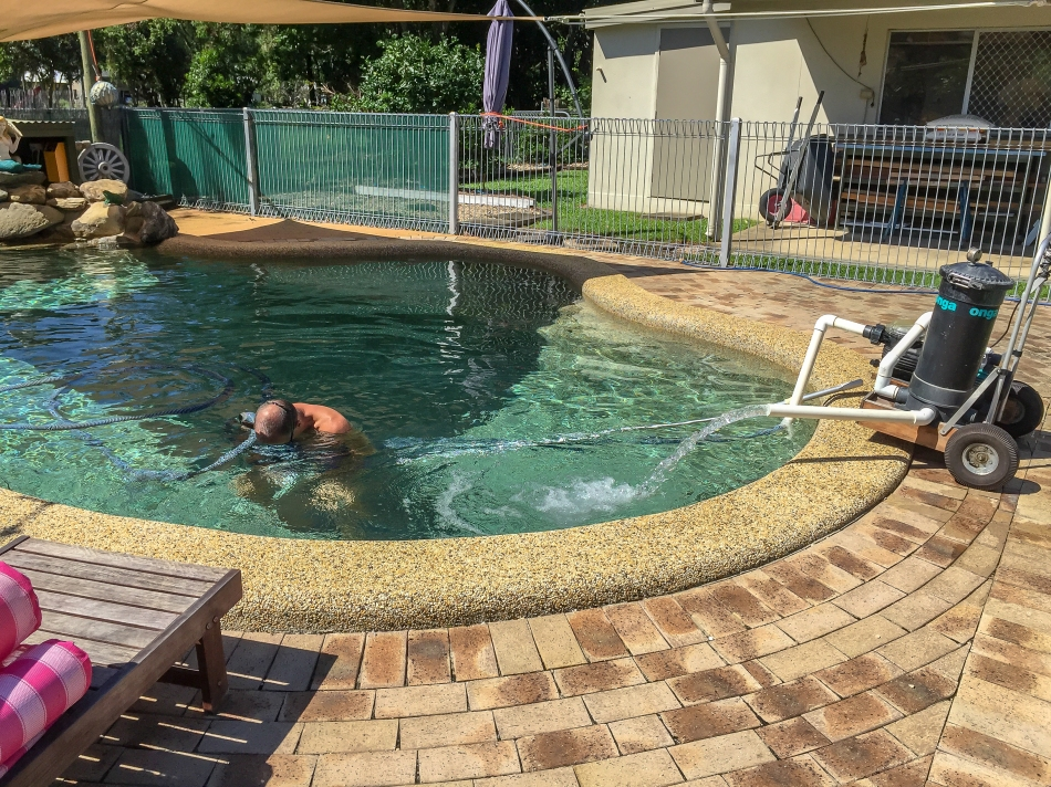 Pool Cleaning Time