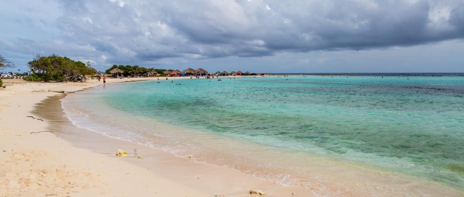 View of Baby Beach
